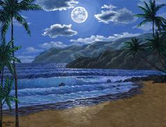 Maui Beach Hawaii Painting