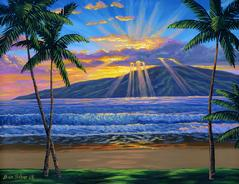 Hawaii Lanai painting