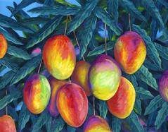 Mangos painting art Maui Hawaii