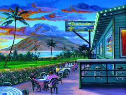 Alexander's Fish House Painting Picture Kihei Maui Hawaii